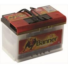 Aku Banner Power Bull PRO 77Ah 680A -/+