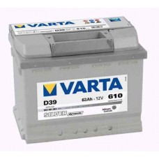Aku Varta SILVER D39 63Ah 610A +/-